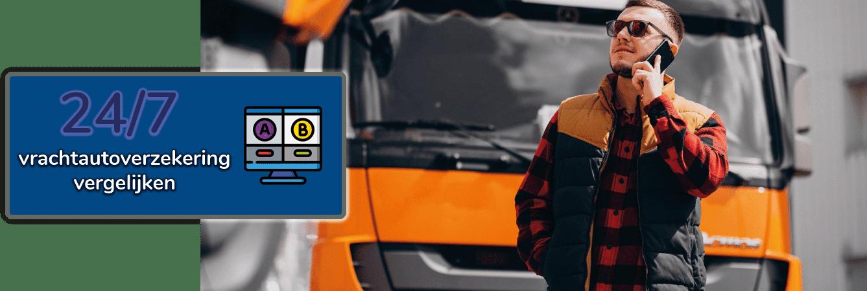 Goedkope vrachtautoverzekering vergelijken en afsluiten